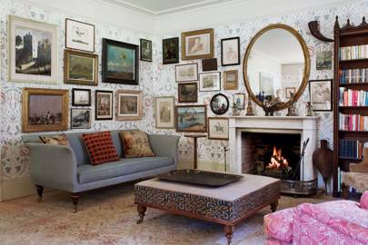 'Chateau' wallpaper & Hanging Art
