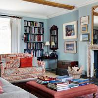 Farrow and Ball colours - light blue