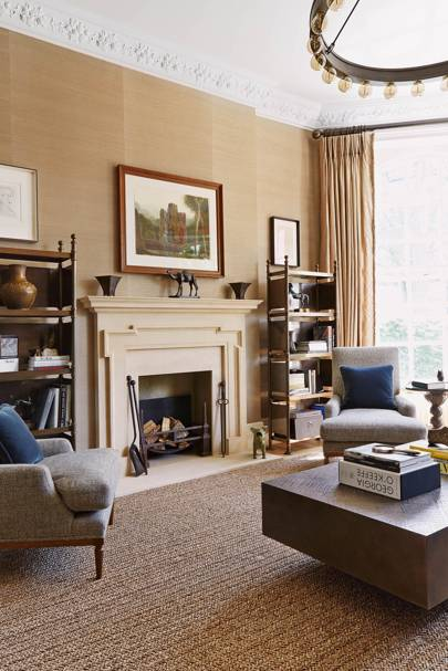 Living Room Fireplace - Keech Green London Flat