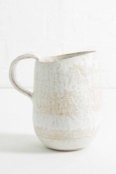 Textured Ceramic Jug