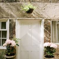 Whitewashed Door - Traditional Bath B&B