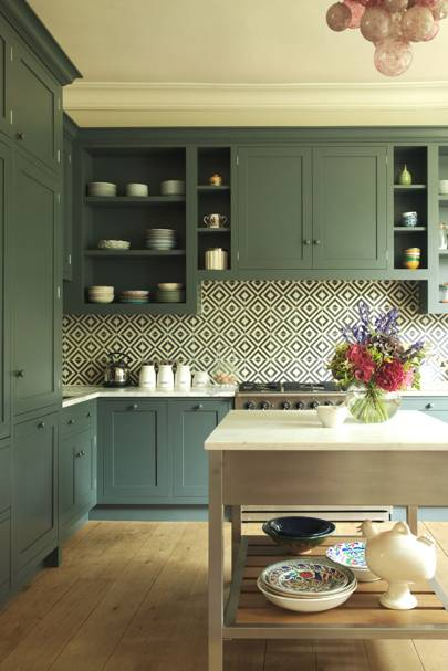 kitchen colour schemes | kitchen decoration inspiration | house & garden