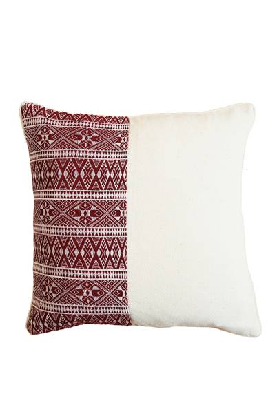 May 9: Kalinko Magun Cushion Cover in Maroon, £50