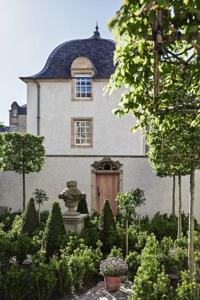 The Restoration Of Lamb S House Leith House Garden