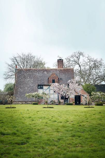 A run-down Sussex farmhouse restored