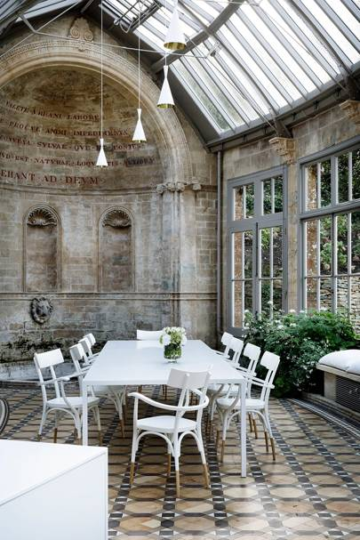 Garden Room Dining - Somerset Country House