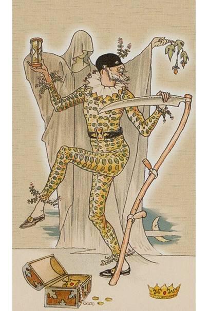 Death from The Harmonious Tarot