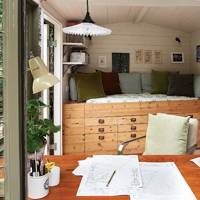 Shed Day bed with Storage | Small Space Design