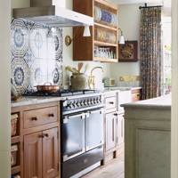 Country Kitchen Pattern & Plate Rack