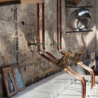 DIY Exposed Copper Pipework