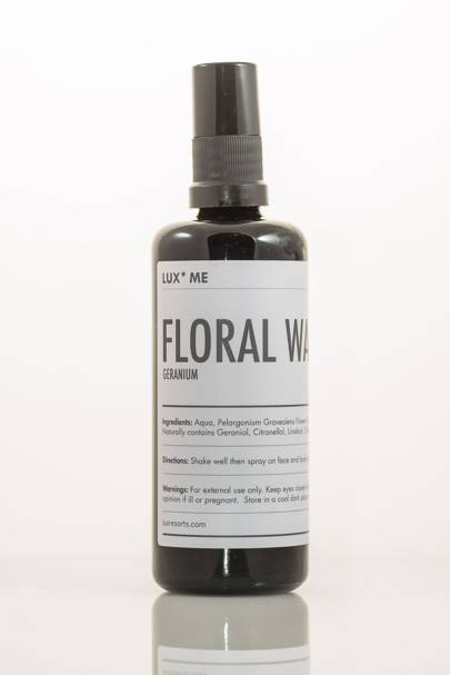 February 3: LUX* Me Geranium Floral Water, £22.50