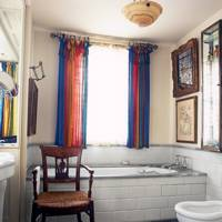 Robert Kime's London flat - Bathroom