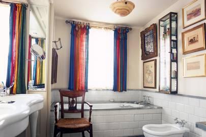 Robert Kime's London flat - Bathroom