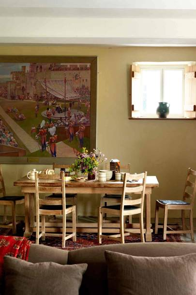 Dining Room - Prince Charles' Welsh Home