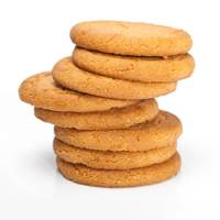 2 Gingernut Biscuits = 72Kcals