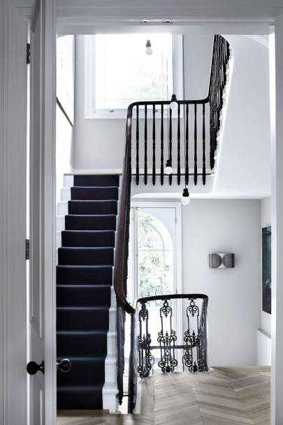 Black Stair Runner