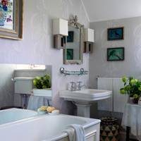 Pale Green Bathroom