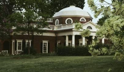 Monticello Thomas Jefferson S Palladian Country House House Garden