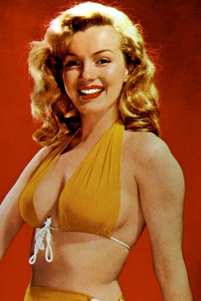 Marilyn Monroe in the mid-1940s