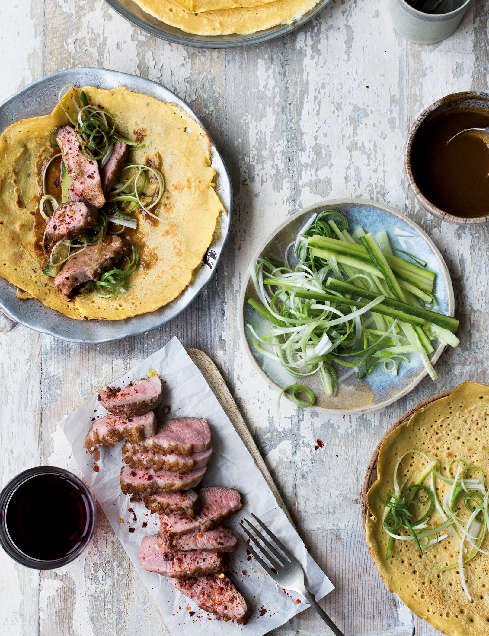 Duck Pancakes Recipe House Garden