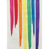October 2: Erskine Rose Rainbow Tea Towel, £15