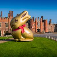 Lindt Gold Bunny Hunt, Hampton Court Palace