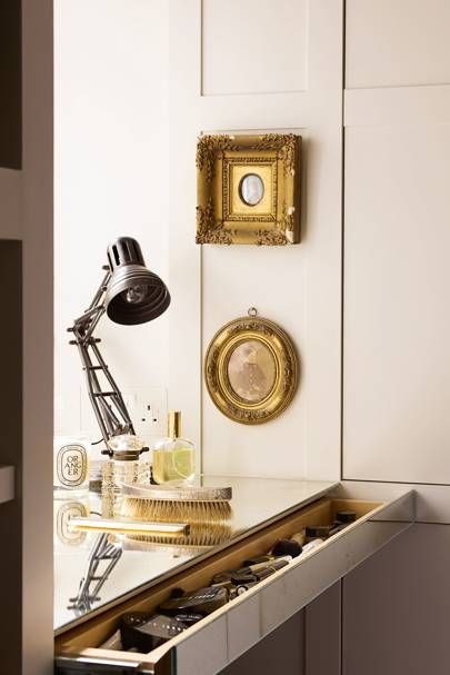 Mirror-Lined Dressing Table