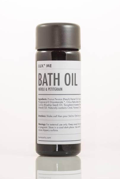 February 2: LUX* Me Bath Oil, Neroli & Petitgrain, £24.50