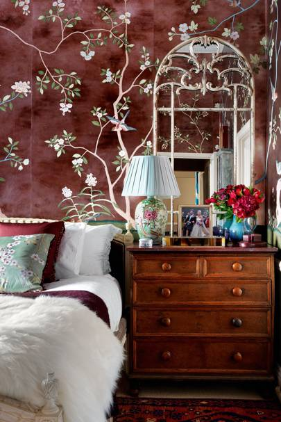 de Gournay 'Badminton' Wallpaper