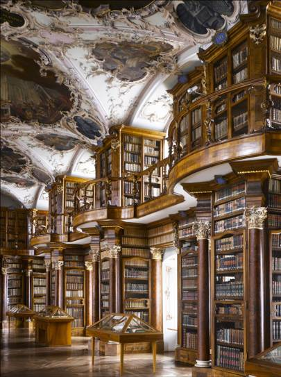 Abbey of St Gall Library, St Gallen, Switzerland