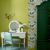 Dressing room colour scheme