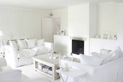 All-white colour scheme