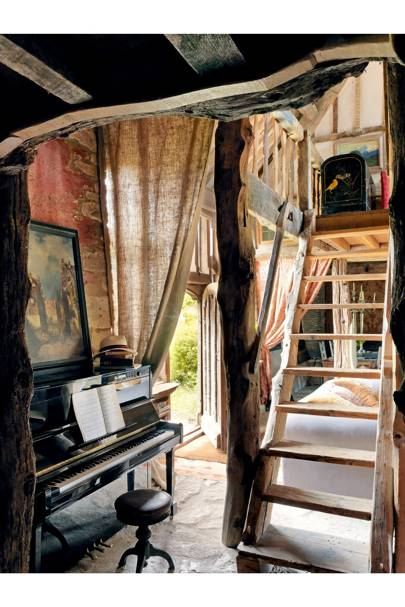 Piano - 18th Century Rustic Barn