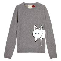 Fox Print Jumper