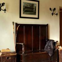 Antique Bench - Prince Charles' Welsh Home