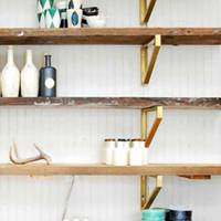Floorboard Shelves