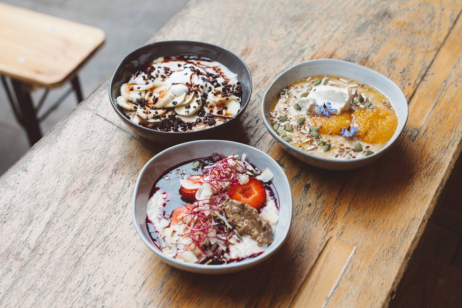 26 Grains Perfect Porridge Restaurant Reviews House Garden
