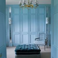 Blue Wardrobe Doors