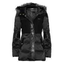 Leather Sateen Coat