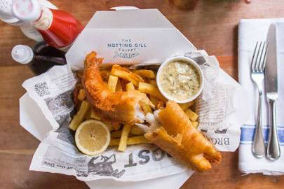 The Notting Gill Chippy, Notting Hill