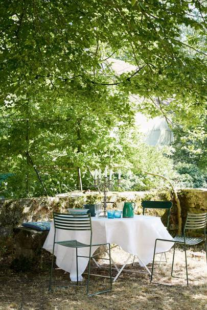 French Garden Dining Room