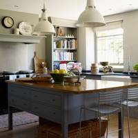 Grey country kitchen from Plain English
