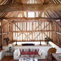 Farmhouse Barn | Country Living Room Design Ideas