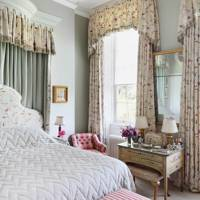 Light Green Walls & Colefax & Fowler Headboard