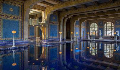 You can finally swim in the Hearst Castle pools