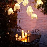 How to make hanging firefly glass lanterns