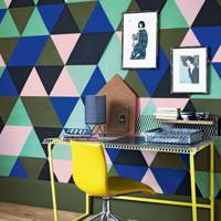 Paint a Harlequin Pattern