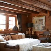 French Rustic Living Room