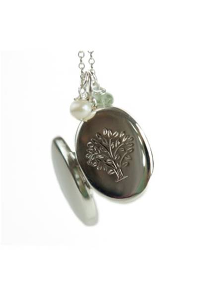 July 10: Tree of Life Locket, £120, from Limetree Designs
