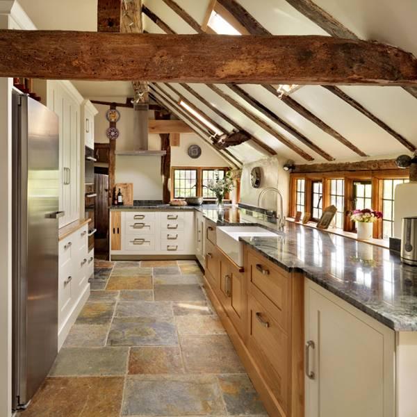 Country Cottage Kitchen In Cream Kitchen Design Ideas Images House Garden